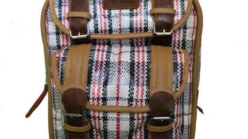 Nostalgia bag by Dennis Chuene.