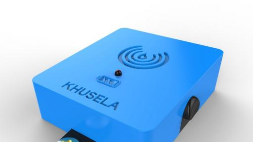 Khusela fire protection device.