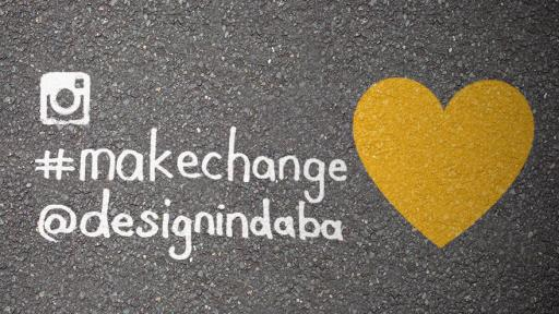 #makechange – an instagram competition with @designindaba
