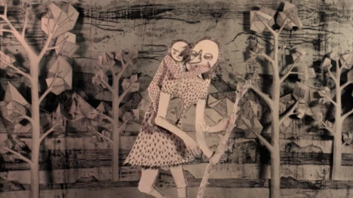 """Frame from Ali Aschman's """"Elsewhere, The Survivors""""."""