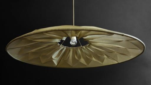Ukhamba collection: Fan Lamp by Mema Designs.