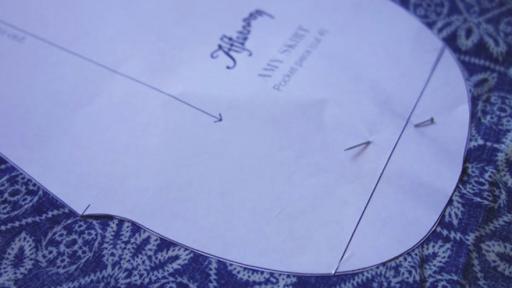 Emerging Creative Jennifer Jacobs' sewing pattern.