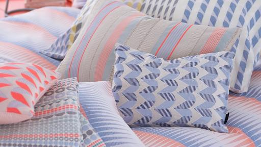 Authentic handwoven textiles by Margot Selby.