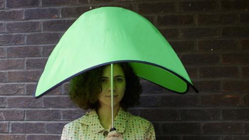 Drop pop-up umbrella by Ayca Dundar