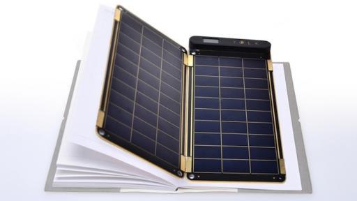 Yolk Solar Paper charger