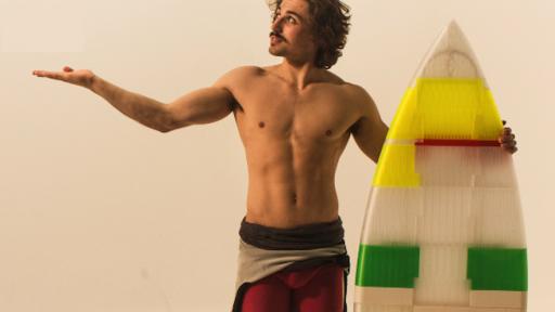 Jigsurf surfboard by Max Robotham