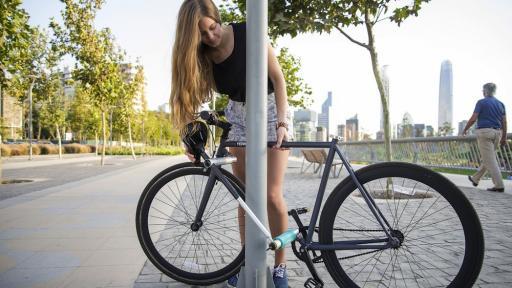 Yerka bike locking system
