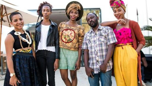 Some of the vibrant young participants that attended the two-day Fashion Master Class in Lusaka. Image: Vince Banda, R & G
