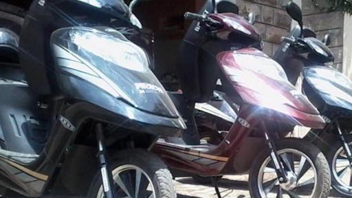 The student team have three solar-powered bikes on Kenyan roads.