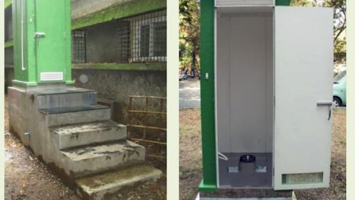 A new Eco-friendly waterless toilet system designed by a university professor is set to prevent illnesses caused by human waste.