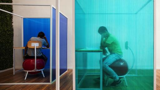 Israeli architect Lior Ben-Sheetrit designed an innovative classroom to assist children with ADHD to focus and learn better.