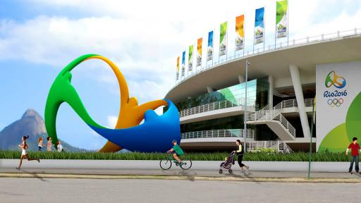 The Rio 2016 emblem evokes passion, transformation and unity.