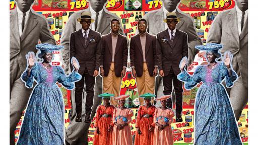 """Orange Collage"" by Tiger Maramela."