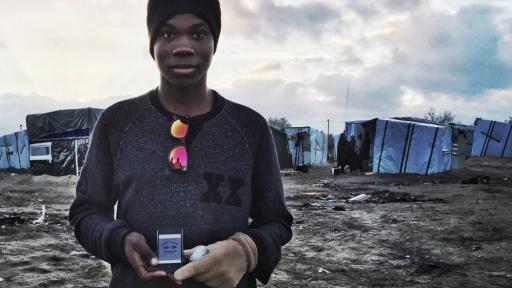 Refugee Phones campaign