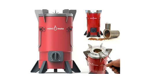 Mimi Moto clean cookstove