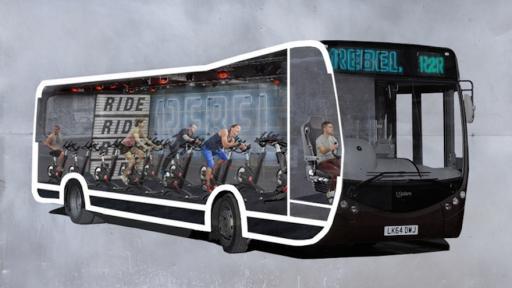 Ride2Rebel bus