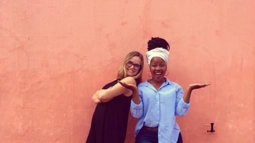 Despite their highly different cultures, Cebisa Mafukuzela and Georgina Campbell found a way to celebrate their heritage through their project CROSS.CULTURE