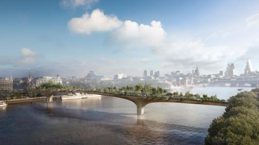 Thomas Heatherwick's Garden Bridge in London
