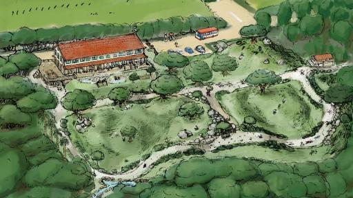 Kumé Creation's park design