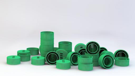 Dasani bottle caps
