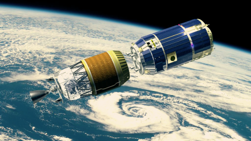 Kounotori space rendering