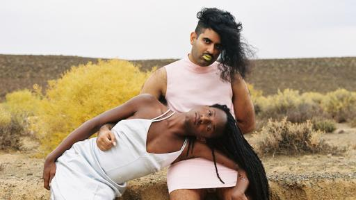 Zara Julius collaborated with artist and activist Joshua Allen and gender non-conforming artist Alok Vaid-Menon to unpack their lived experiences in a photo series titled, SOFT