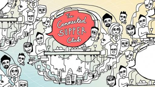 The Supper Club illustrations by Patu Tifinger
