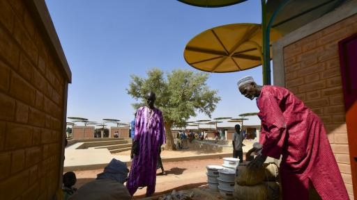 Dandaji market in Niger