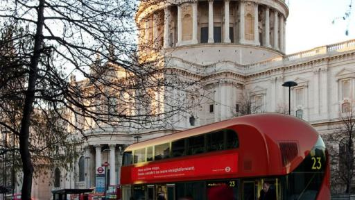 New London Bus designed by Thomas Heatherwick.