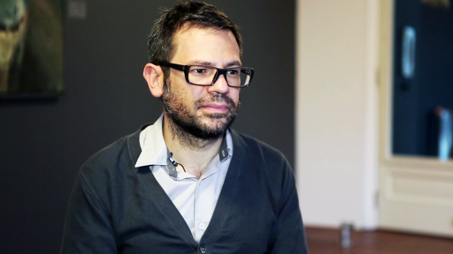 Pedro Reyes at What Design Can Do 2013.