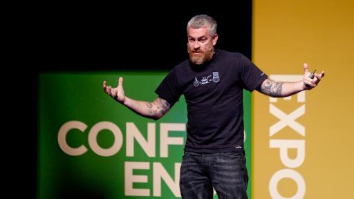 Alex Atala at Design Indaba Conference 2013.
