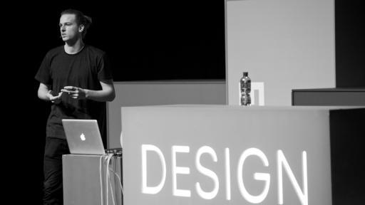 Pieter-Jan Pieters at Design Indaba Conference 2013.