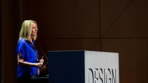 Paula Scher at Design Indaba Conference 2013.