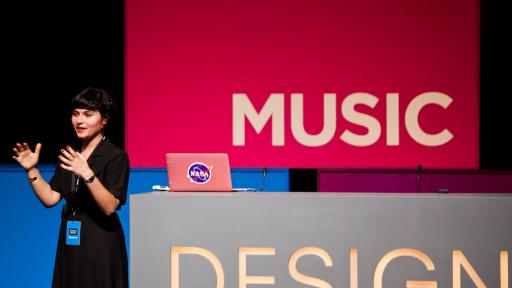 Nelly Ben Hayoun at Design Indaba Conference 2013.