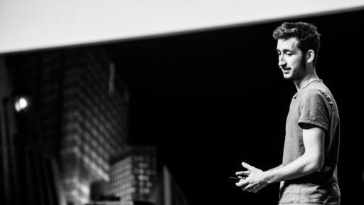 Dave Hakkens at Design Indaba Conference 2014.