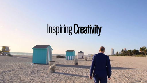 """Inspiring Creativity"" directed by Pablo Ganguli and Tomas Auksas."