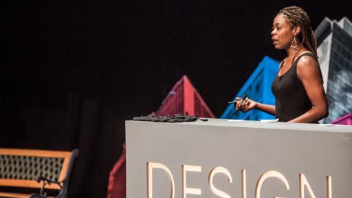 Joy Mckinney at Design Indaba Conference 2014.