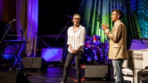 Margot Janse and David Higgs at Design Indaba Conference 2014