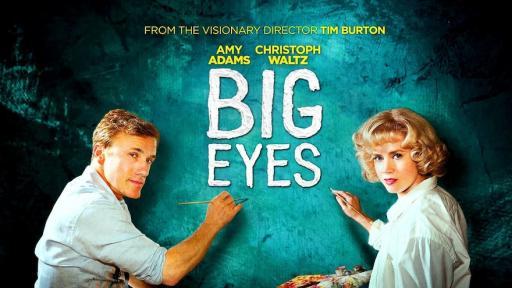 """""""Big Eyes"""", a film by Tim Burton."""