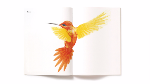 The painted hummingbird designed by Michael Wolff for Bovis Homes, an example of a moment of Brinkmanship.