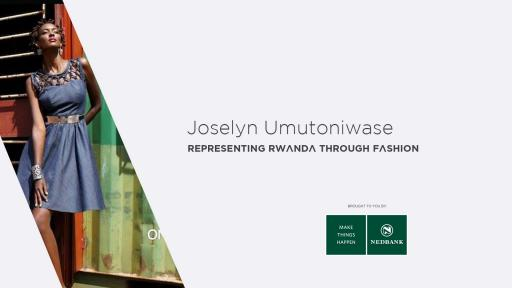 Joselyn Umutoniwase quit filmmaking to focus on starting Rwanda Clothing, a Kigali-based label representing fashion in her home country