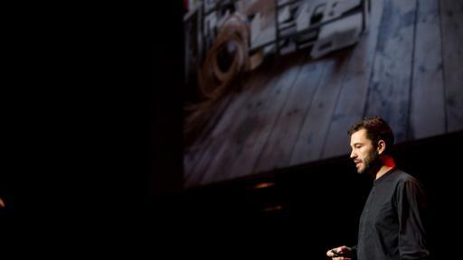 Swiss product designer Christophe Guberan presents as one of Design Indaba's Global Graduates on materials that transform