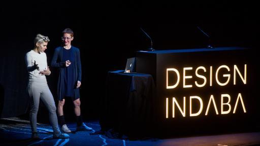Giorgia Lupi, Kaki King at the Design Indaba Conference 2017