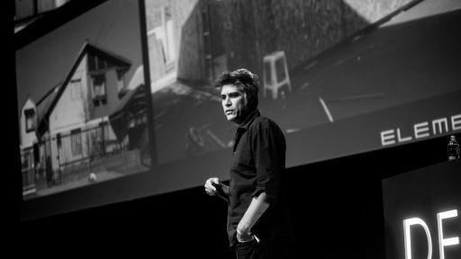 Alejandro Aravena at Design Indaba 2018