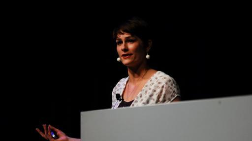 Marije Vogelzang at Design Indaba Conference