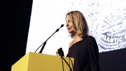 Paula Scher at AGI Open 2011