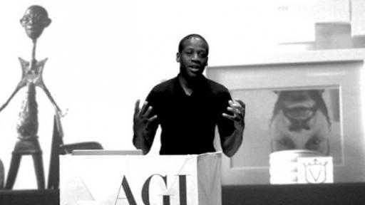 Eddie Opara at AGI Open 2012