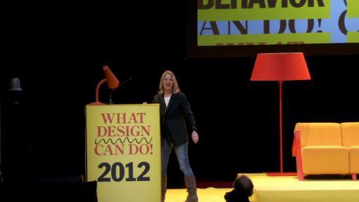Paula Scher at What Design Can Do 2012