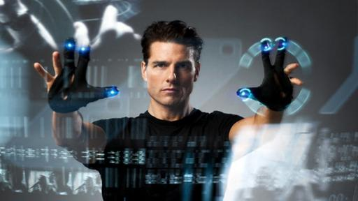 Interaction design: Alex McDowell designed the interactive universe of Minority Report