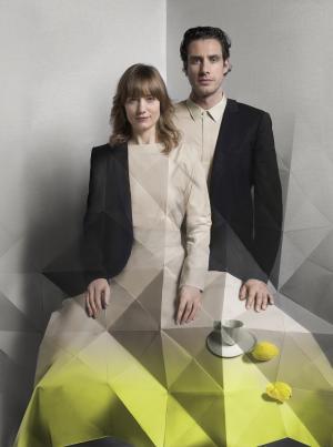 Stefan Scholten and Carole Baijings. Image: Freudenthal/Verhagen